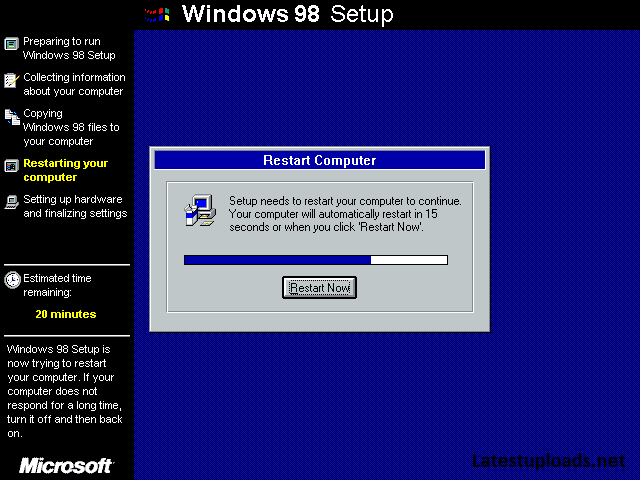 Microsoft windows 98 se bootable iso full free download for Window 98 iso
