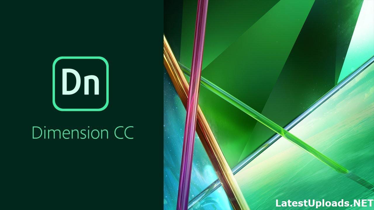 Adobe Dimension CC 2018 Download