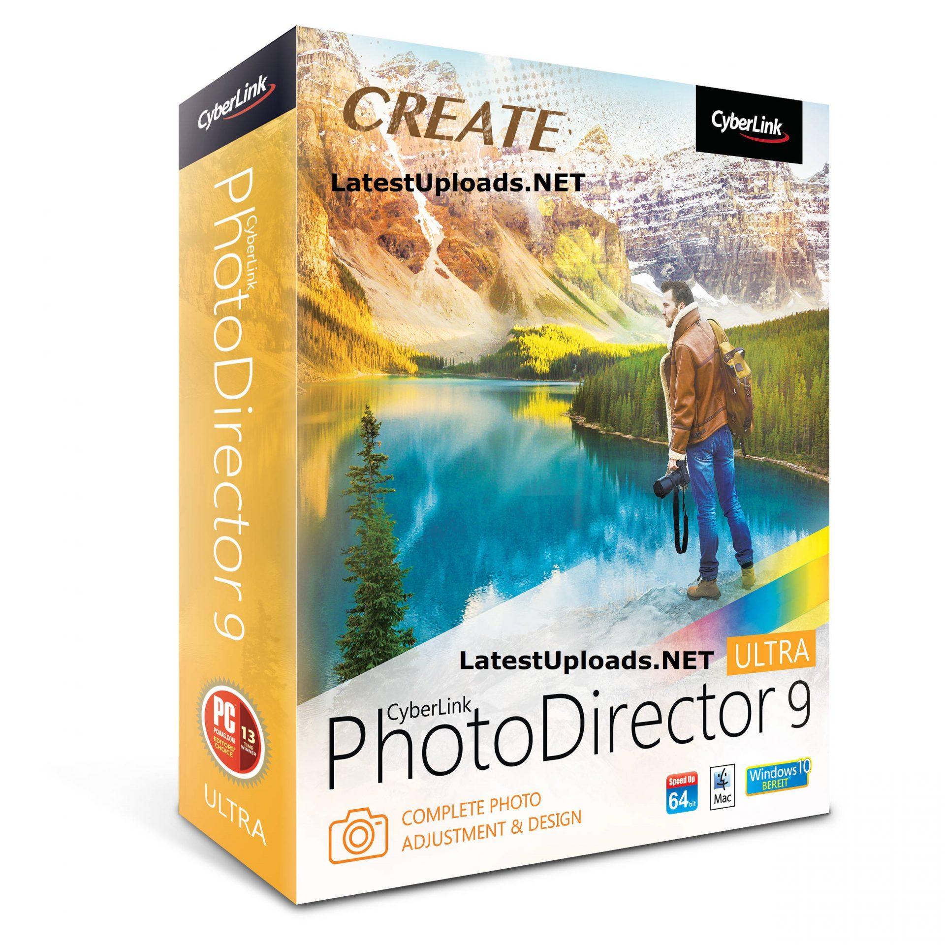 CyberLink PhotoDirector Ultra 9.0.2406.0 Free Download Full Version Crack Keygen