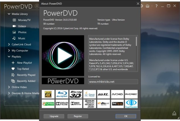 powerdvd 16 activation key