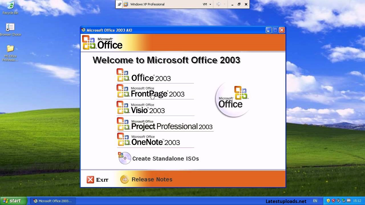 Microsoft Office 2003 Free Download Portable Version for Free (32/64 Bit)