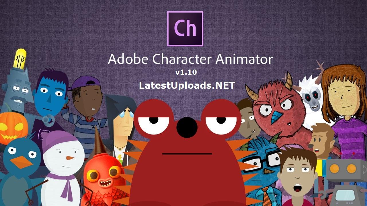 Adobe Character Animator CC 2018 Crack | LatestUploads NET