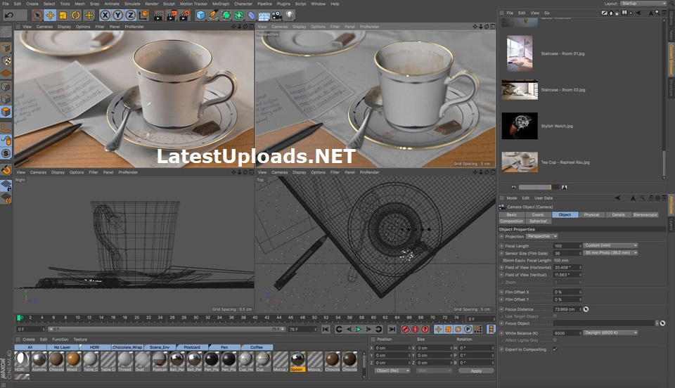 CINEMA 4D R19.024 Studio Download Crack