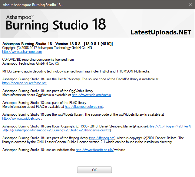 Ashampoo Burning Studio 18.0 Crack Full Download