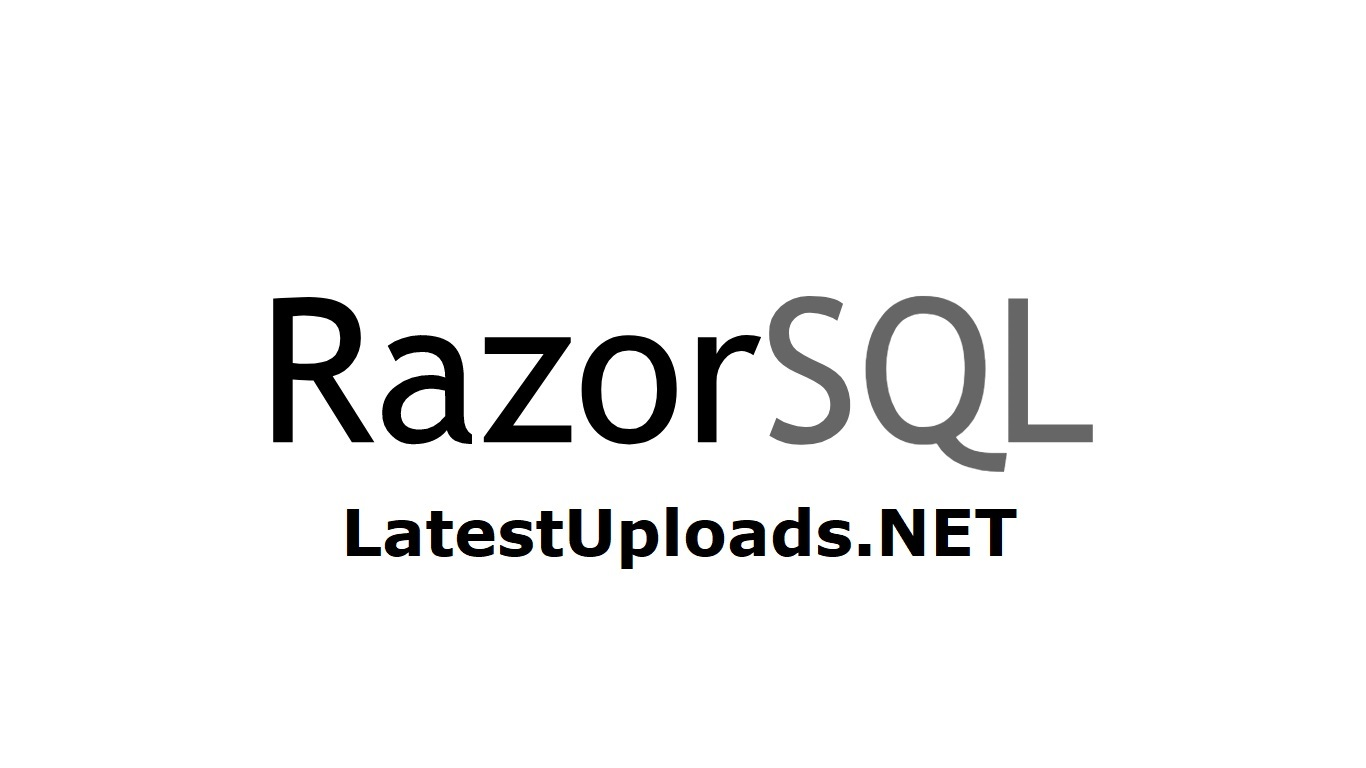 Richardson Software RazorSQL 7.4.0 Free Download Full Version with Crack, Keygen and Serial Number