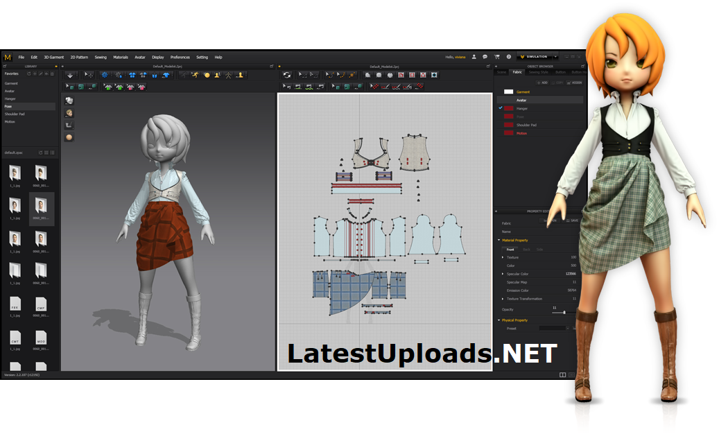 Marvelous Designer 7 Free Download with Crack